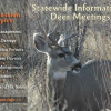 Informational Deer Meetings Scheduled Statewide